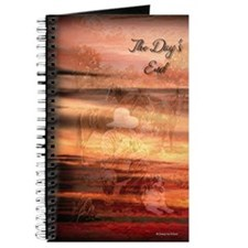 Cowboy at Days End Journal (Orange)