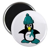 Winter Penguin 1 (OC) Magnet