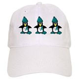 Winter Penguin 1 (OC) Baseball Cap