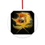 William Blake Ornament (Round)