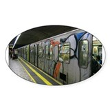 metro Oval Decal