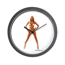 Blonde Wall Clock