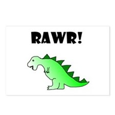 RAWR! Postcards (Package of 8)