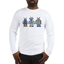 Robot Family Long Sleeve T-Shirt