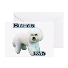 Bichon Dad4 Greeting Cards (Pk of 20)