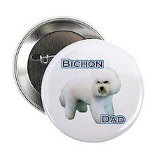 """Bichon Dad4 2.25"""" Button (10 pack)"""