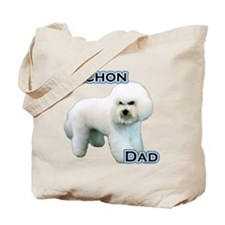 Bichon Dad4 Tote Bag