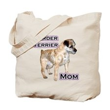 Border Terrier Mom4 Tote Bag