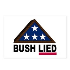 BUSH LIED Postcards (Package of 8)