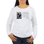 Oscar Wilde 15 Women's Long Sleeve T-Shirt