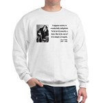 Oscar Wilde 15 Sweatshirt