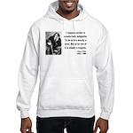 Oscar Wilde 15 Hooded Sweatshirt