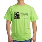 Oscar Wilde 15 Green T-Shirt