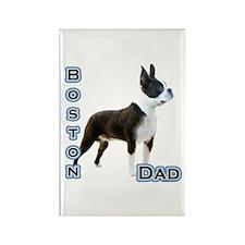 Boston Dad4 Rectangle Magnet