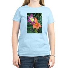 Funny Purple lily T-Shirt