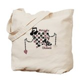 Musically Chained Tote Bag