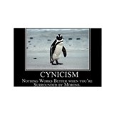 Cynicism Rectangle Magnet