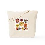 Ten Daylilies Tote Bag