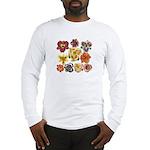 Ten Daylilies Long Sleeve T-Shirt
