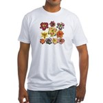 Ten Daylilies Fitted T-Shirt