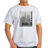 A Foggy Day in Chicago Ash Grey T-Shirt