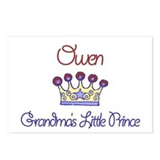 Owen - Grandma's Little Princ Postcards (Package o