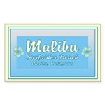 Malibu Surfrider Rectangle Sticker