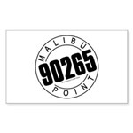 Malibu 90265 Rectangle Sticker