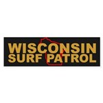 Wisconsin Surf Patrol Bumper Sticker