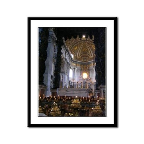 St. Peter's Basilica Framed Panel Print