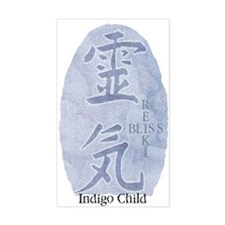 Indigo Child, Reiki Bliss Rectangle Decal