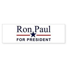Ron Paul For President Bumper Car Sticker