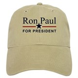 Ron Paul For President Baseball Cap