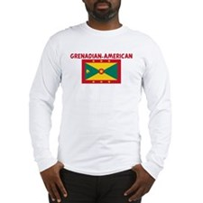 GRENADIAN-AMERICAN Long Sleeve T-Shirt