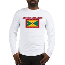 Cute Grenadian travel Long Sleeve T-Shirt