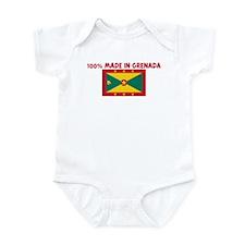 100 PERCENT MADE IN GRENADA Infant Bodysuit