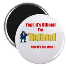 Cop Retirement. :-) Magnet