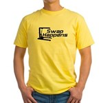 Swap Happens Yellow T-Shirt