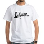 Swap Happens White T-Shirt
