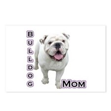 Bulldog Mom4 Postcards (Package of 8)