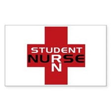Student RN Rectangle Decal