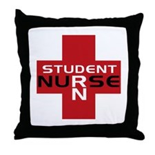 Student RN Throw Pillow