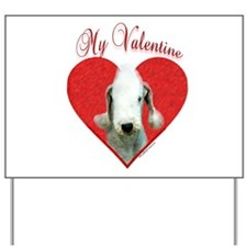 Bedlington Valentine Yard Sign