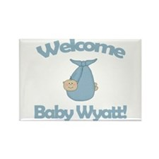 Welcome Baby Wyatt Rectangle Magnet (10 pack)