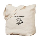 I am not a burger. Tote Bag