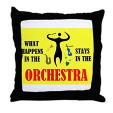 ORCHESTRA Throw Pillow