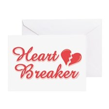 Heart Breaker Greeting Card