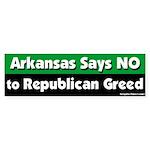 Arkansas Republican Bumper Sticker