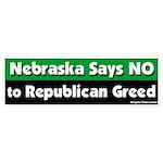 Nebraska Republican Bumper Sticker