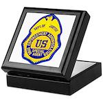 DEA Special Agent Keepsake Box